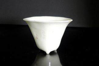 blanc de chine libation cup