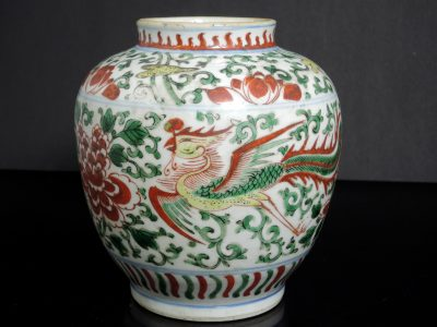 Asiatic porcelain, works of art