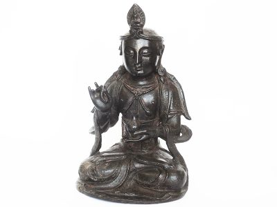 Bodhisattva bronze Ming Dynasty front