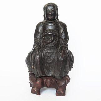 Ming bronze figure of Zhenwu | Bovens Amsterdam