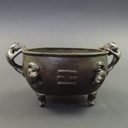 Ming bronze Bagua censer | front | Bovens Amsterdam