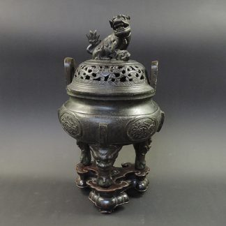 Tripod censer Xuande seal Ming