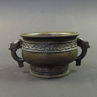 Song bronze Gui food vessel | Bovens Amsterdam