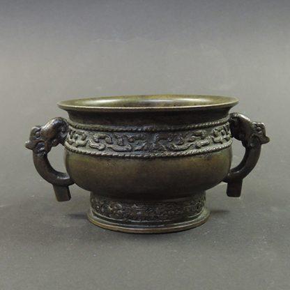 Song bronze Gui food vessel | Bovens Amsterdam