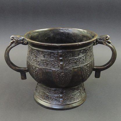 Yuan Ming bronze Gui foodvessel | Bovens Amsterdam