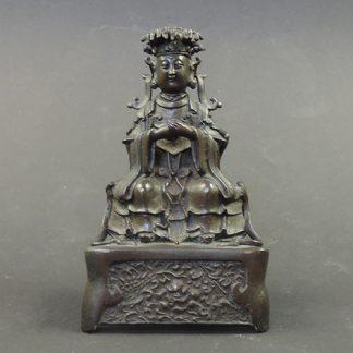 Taoist Deity Qing Dynasty 18th Century