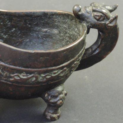 Ming bronze Yi watervessel Ming | detail | Bovens Amsterdam