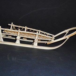 eskimo ivory sled | 1