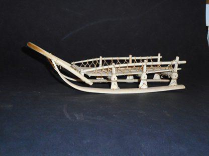 eskimo ivory sled | 2